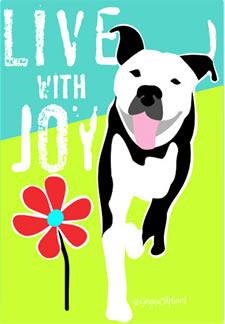 pit bull joy image