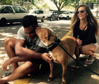 Baltimore Ravens rookie Ronnie Stanley and his girlfriend wanted to adopt a dog who was having trouble finding a home.