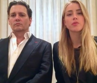 Johnny Depp and his wife, Amber Heard, apologized for bringing their dogs to Australia in a video.