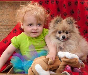 Regan and Teddy