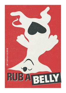 Rub a Belly Poster