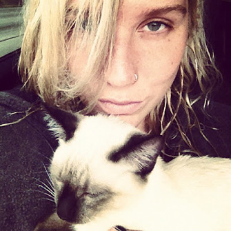 Ke$ha names new kitten Mr. Peep$