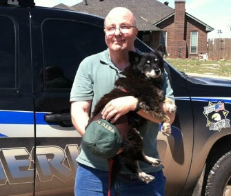 Susie, whose photo went viral after she was found, was reunited with her owner on Wednesday.