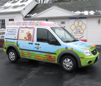 Tiki's Doggie Ice Cream Truck