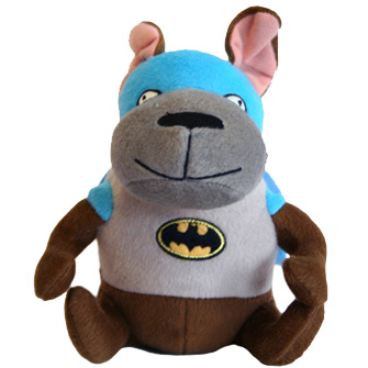 Batman dog toy