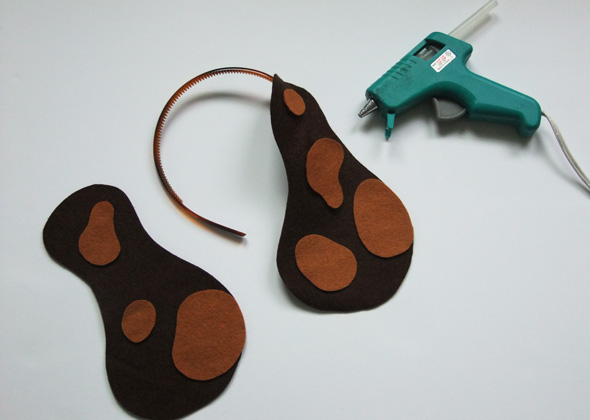 how to make floppy dog ears costume