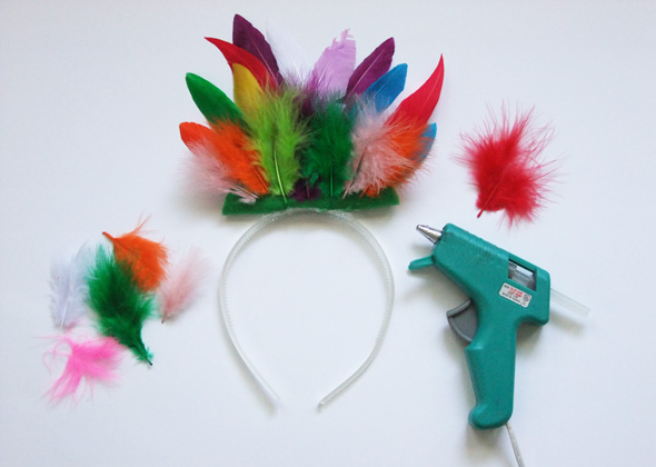 Diy halloween costumes 5 easy animal headbands for kids for Dog crafts for adults