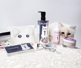 Karl Lagerfeld's beloved cat Choupette launches her own beauty product line, Shupette.