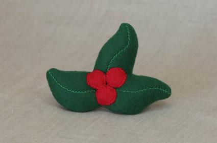 Catnip mistletoe toy