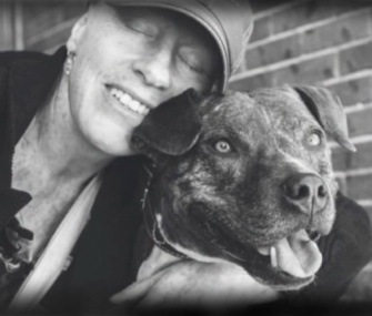 Patricia Cudd, who's terminally ill, is looking for a new home for her Pit Bull, Sherlock.