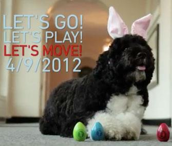 Bo Obama White House Easter Egg Roll
