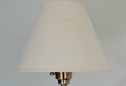 Pet Hair on Lamp shade