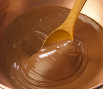 Bowl of chocolate