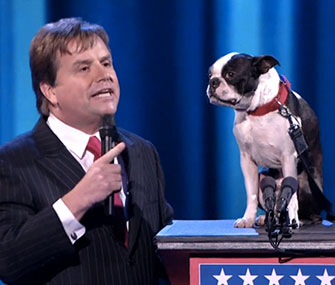Todd Oliver and Irving perform on America's Got Talent.