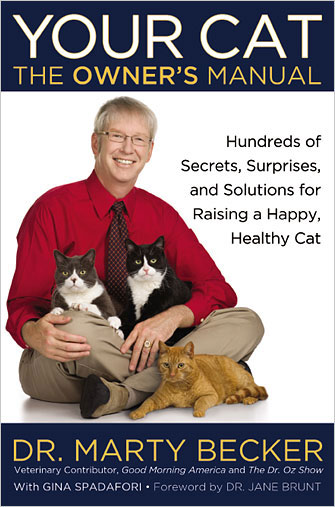 The cover of the book, Your Cat the Owner's Manual
