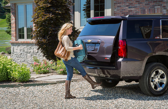 2015 Chevrolet Tahoe Hands-Free Liftgate