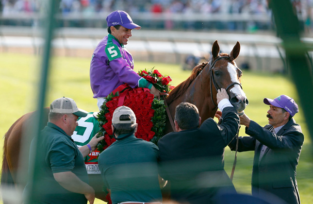 California Chrome and Victor Espinoza
