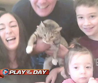 The Urbano family welcomed a shelter cat after their kids made a plea for one on Facebook.