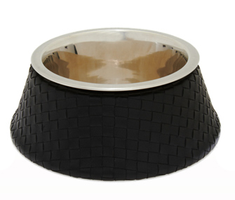 Bottega Veneta Woven Dog Bowl