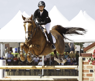 Reed Kessler and her mare Cylana