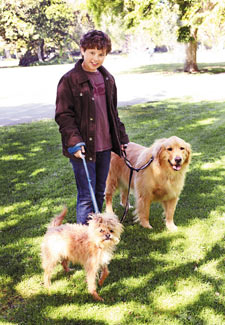 Modern Family's Nolan Gould and his dogs