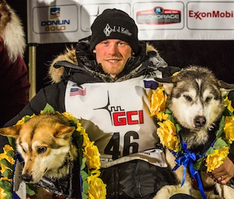 Dallas Seavey became the first person to win the Iditarod three times.