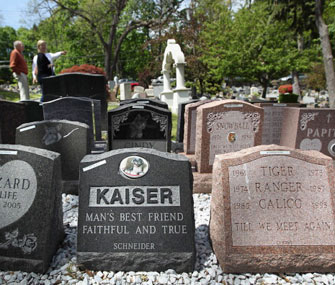 Pet Cemetery Provides Final Resting Place For Beloved Animals