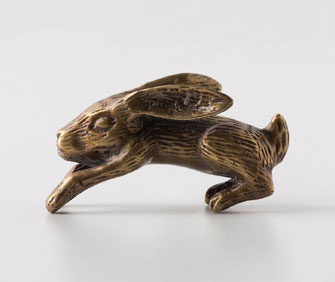 rabbit knob from anthropologie