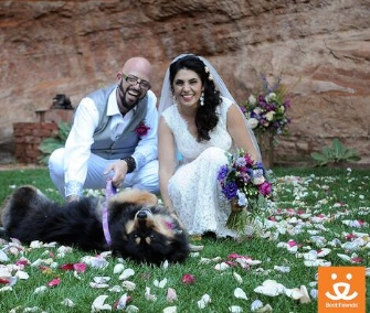 Animal Planet star Jackson Galaxy got married Sunday at Best Friends Animal Sanctuary in Utah.