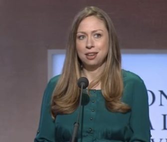 Chelsea Clinton pushed for elephant protections during a speech at the Clinton Global Initiative meeting Tuesday.