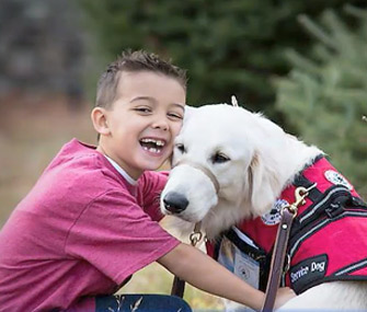 Boy battles school for service dog