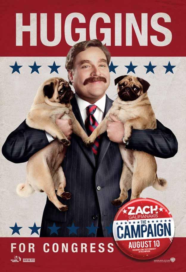 Zach Galifianakis Campaign Poster