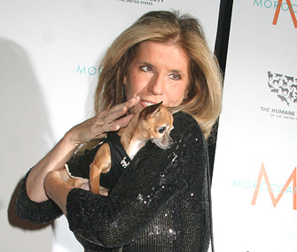 Jill Rappaport with Dog