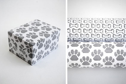 animal wrapping paper