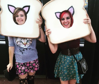 Many cat lovers at the International Cat Video Festival in Minneapolis sported feline costumes for the event.