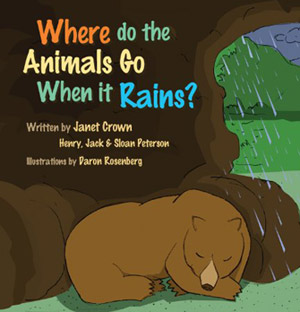 Where Do the Animals Go When It Rains? Cover