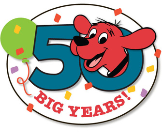 Clifford the dog turns 50