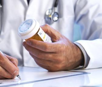 Vet Writing Prescription