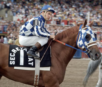 Secretariat and Ron Turcotte