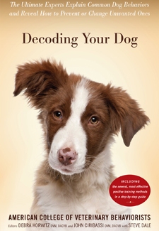 book cover with dog