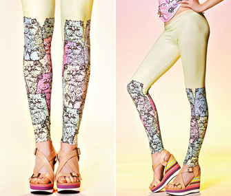QooQoo Multicat Leggings