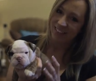 CPR instructor Alicia Pederson used her knowledge to save the life of newborn puppy Miri.
