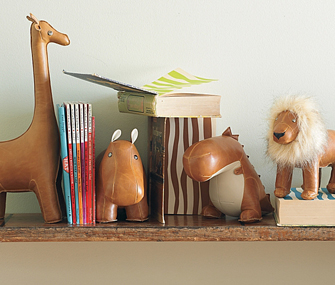 Jungle Animal Bookends