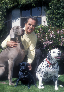 Dick Clark and Dogs